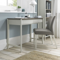 Bergen Grey Washed Oak & Soft Grey Desk