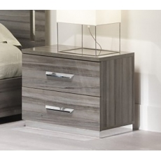 Teverly 2 Drawer Bedside Chest by San Martino
