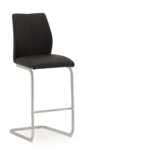 Ellis Bar Stool (Black & Chrome)