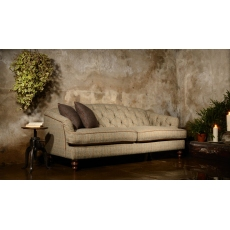 Dalmore Midi Sofa (All Tweed) by Tetrad Harris Tweed