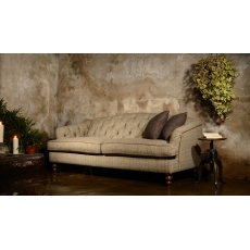 Dalmore Petit Sofa (All Tweed) by Tetrad Harris Tweed