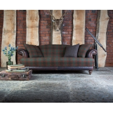 Taransay Midi Sofa by Tetrad Harris Tweed