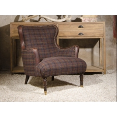 Nairn Chair by Tetrad Harris Tweed