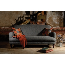 Braemar Petit Sofa by Tetrad Harris Tweed