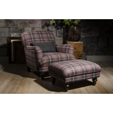 Braemar Chair by Tetrad Harris Tweed