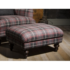 Braemar Stool by Tetrad Harris Tweed
