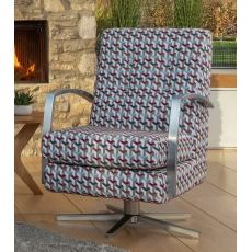 Savannah Swivel Chair by Alstons