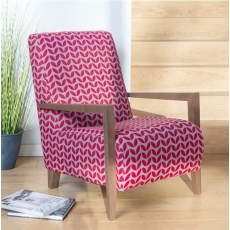 Savannah Bali Accent Chair by Alstons