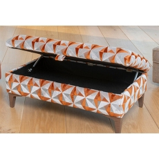 Savannah Legged Ottoman by Alstons