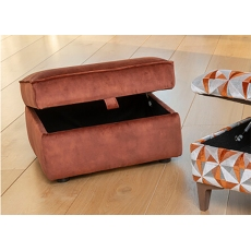 Savannah Storage Footstool by Alstons