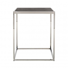 Blackbone Side Table - Silver Collection