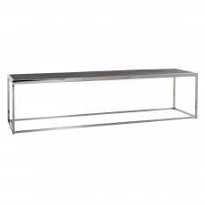 Blackbone 160 x 40cm Coffee Table - Silver Collection