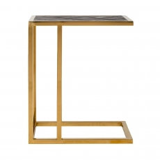 Blackbone Sofa Table - Gold Collection