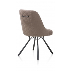Eefje Dining Chair (Taupe) by Habufa
