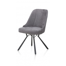 Eefje Dining Chair (Anthracite) by Habufa
