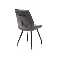 Scott Dining Chair (Anthracite) by Habufa