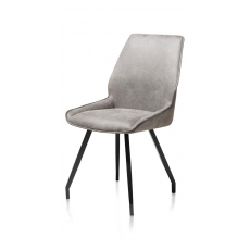 Scott Dining Chair (Light Grey) by Habufa