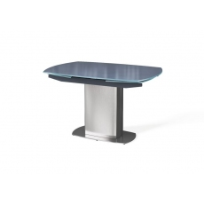Olivia Swivel Extending 130-190cm Dining Table (Grey) by Torelli