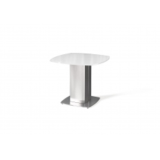 Olivia Lamp Table (Super White) by Torelli