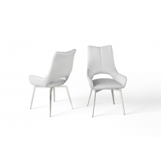 Spin Dining Chair (White) by Torelli