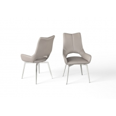 Spin Dining Chair (Taupe) by Torelli