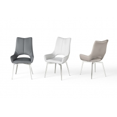 Spin Dining Chair (Grey) by Torelli