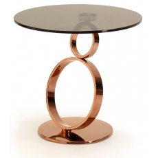 Rose Rings Lamp Table by Kesterport