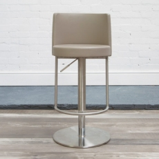 Monza Bar Stool (Taupe) by HND