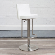Monza Bar Stool (White) by HND