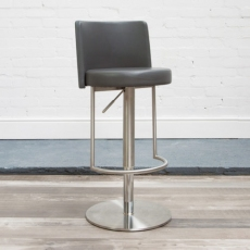Monza Bar Stool (Grey) by HND
