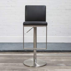 Cadiz Bar Stool (Black) by HND