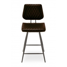 Dalton Bar Stool (Brown) by Baker