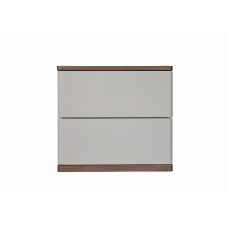 Panache 2 Drawer Bedside by Baker