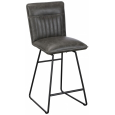 Cooper Bar Stool (Grey) by Baker