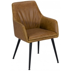 Oliver Dining Chair (Tan) by Baker