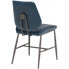 Dalton Dining Chair (Dark Blue) by Baker