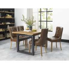 Indus 4-6 Seater Extending Dining Table