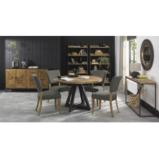 Indus 125cm Circular Dining Table