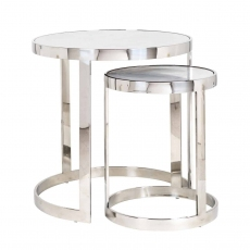 Levanto Nest of 2 Round Side Tables by Richmond Interiors