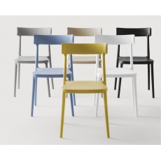 Set of 4 Argo Outdoor Chairs (CB1523) from Connubia by Calligaris