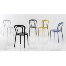 Caffe Chair (Model CB1970) from Connubia by Calligaris