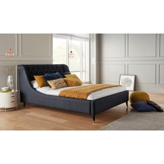Louis Upholstered Bed by WhiteMeadow (Three Sizes Available)