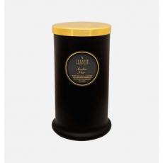 Amber Noir Tall Pillar Jar Candle by Shearer Candles