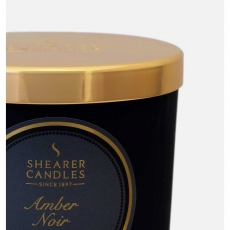 Amber Noir Jar Candle by Shearer Candles