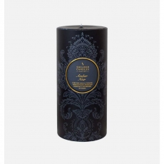 Amber Noir Pillar Candle by Shearer Candles