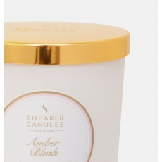Amber Blush Jar Candle by Shearer Candles