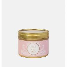 Amber Blush Small Candle Tin by Shearer Candles