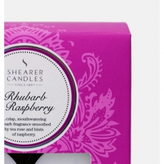 Rhubarb and Raspberry Tealights x8 by Shearer Candles