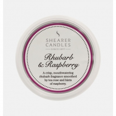 Rhubarb and Raspberry Wax Melt by Shearer Candles