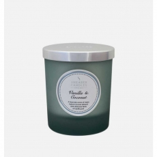 Vanilla and Coconut Jar Candle by Shearer Candles